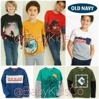ORIGINAL BRANDED OldNavy Tee -kaos anak old navy Junior gap kids boy