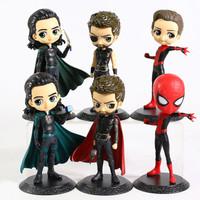 Spiderman Thor Loki Qposket Action Figure