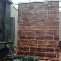 BIG SALE!!! Tirai Bambu Kulit Vernish - Size 2m x 2,5m
