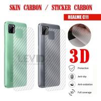 SKIN CARBON REALME C11 SKIN BACK 3D ANTIGORES SKIN REALME C11