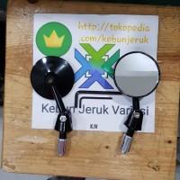 Spion Jalu Lipat Bar End Nmax Aerox PCX Vario Xmax Vesps Modish Hitam