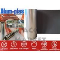 Plat Plastik Aluminium 55cm Karpet Talang Air Pagar