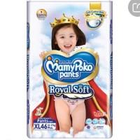 mamypoko pants celana royal soft xl46 girl 4 pack