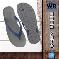Sandal Jepit Pria Sandal Flip Flop Sendal Premium CAMOU WR - Abu Biru