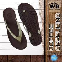 Sandal Jepit Pria Sandal Flip Flop Sendal Premium CAMOU WR - Kopi C