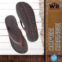Sandal Jepit Pria Sandal Flip Flop Sendal Premium CAMOU WR - Coklat T