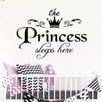 Wall Sticker Putri 6 Stiker Dinding Kaca Rumah Murah - Putih