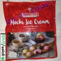 Mochi ice cream Assorted flavoured isi 6 macam.