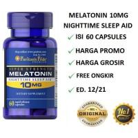 Puritan Pride Melatonin 10 mg 60 caps