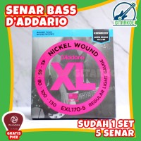 Senar Bass Elektrik DAddario 5 Senar 045 EXL170-5