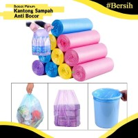 Tempat Kantong plastik sampah bening gulung serbaguna roll murah 20pcs