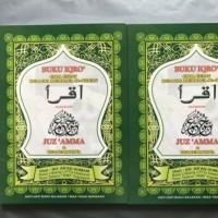 Buku IQRO Juz Amma & Terjemahannya HVS