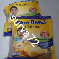 2 bks blue band margarin krim