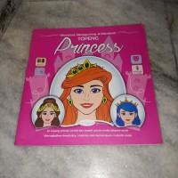 Buku Anak - Mewarnai, Menggunting & Membuat Topeng Princess