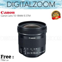 Canon EF-S 10-18MM IS STM - Lensa Canon 10-18MM IS STM