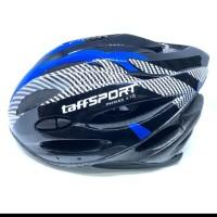 TarrSport Helm sepeda EPS foam PVC shell -x10-Blue