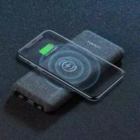 VIVAN VPB-W10 10000 mah quick charge wireless powerbank gray+cyan