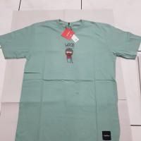 Baju Kaos Pria / T shirt Limitless ( Wood ) - Dark GREEN, L