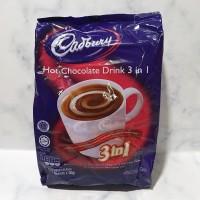 cadbury hot chocolate drink 3 in1 / cadburry hot chocolate 3 in 1