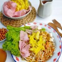 Asinan Betawi (sayur bumbu kacang)