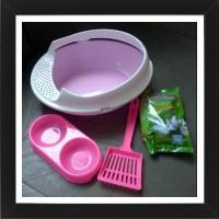 Bak Pasir Kucing Toilet Kucing Paket Komplit