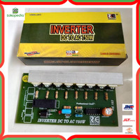MURAH Kit Inverter 12V DC To AC 220V 750W