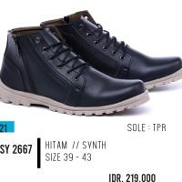 BESTSELLER Sepatu boot pria boots formal pria garsel GSY 2667