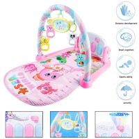 Baby Gym Play Mat Lay&Play 3 in1 Fitness + Music + Lights Fun