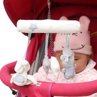 LMS Infants Baby Music Hanging Bed Safety Seat Plush Toy