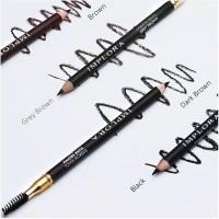 Pensil Alis Implora Celak Eyebrow Pencil Eye Brow Original BPOM Sikat - Dark Brown