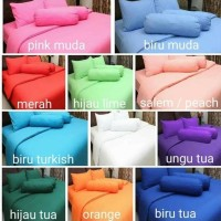 Ready Sprei Polos Rosewell Bahan Microtex Queen 160×200 T20cm