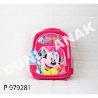 Tas Ransel Anak Motif Minnie Mouse / Ransel Anak Sekolah / Backpack