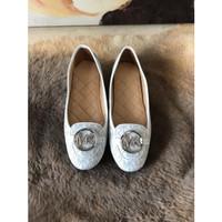 Sepatu Wanita Flat MK Original Lilie Moccasin Logo