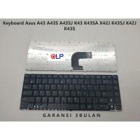 Keyboard Asus A43 A43S A43SJ K43 K43SA X42J K43SJ K42J K43S - Black