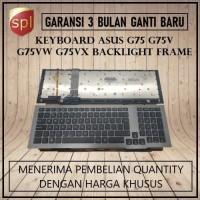 Keyboard Asus G75VW G75 G75V G75VX Backlight Frame - Black