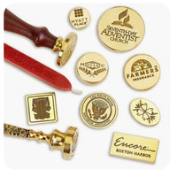 Create Your Own Custom Wax Seal Stamp-Custom Logo Wax Seals