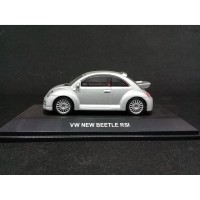 Diecast VW New Beetle RSI Autoart Silver skala 1/64 1:64