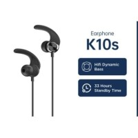 OASE Bluetooth Wireless Sport Earphone K10S - Black/black red