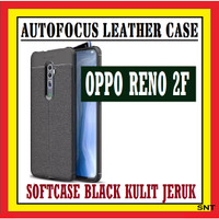OPPO RENO 2F 2Z 6.5 INCH AUTOFOKUS LEATHER CASE KULIT JERUK 910530