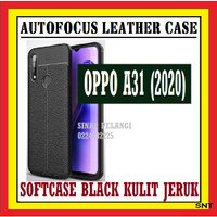 OPPO A31 2020 A8 6.5 INCH AUTOFOKUS LEATHER CASE KULIT JERUK 910547