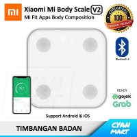 Timbangan Badan Xiaomi Mi Body Scale 2 Bluetooth Smart Scale Original