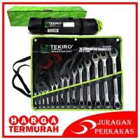 TEKIRO KUNCI RING PAS SET 14 PCS 8 MM - 32 MM RINGPAS 14PCS WR-SE0298