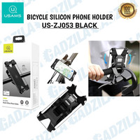 USAMS BICYCLE SILICONE PHONE HOLDER HANDPHONE HP DI SEPEDA US-ZJ053