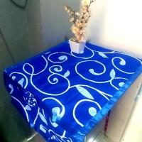 sarung kulkas / tutup kulkas diandra biru