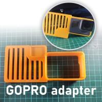 GoPro adapter dji osmo mobile gimbal stabilizer, moza,feiyu, zhiyun,