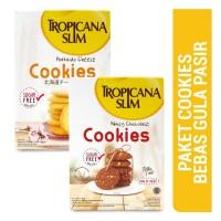 Tropicana Slim Hokkaido Cheese Cookies + Nutty Chocolate Cookies