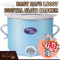 Baby Safe LB007 Digital Slow Cooker Alat Memasak Menghangatkan Makanan
