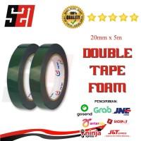 Double Tape FOAM Hijau Star Tape