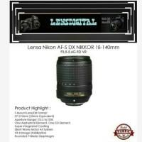 Lensa Nikon AF-S18-140mm f3.5-5.6 G ED VR