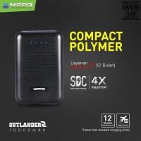Hippo Power Bank Outlander 2 10000mah Powerbank Original Resmi